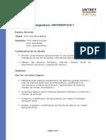 Programa informatica I