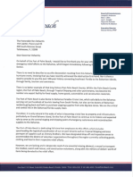 Letter to Governor Ron Desantis