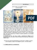 leecion 10 bautismo