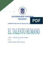 16190329 Trabajo Del Talento Humano