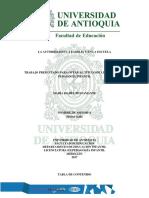 Autoridad Familia y Escuela Trabajo Maria Isabel Bustamante