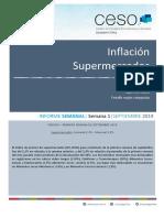 Inflación de agosto según el Centro de Estudios Económicos y Sociales Scalabrini Ortiz