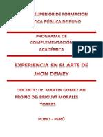 LIBRO EXPERIENCIA EN EL ARTE DE JHON DEWEY.docx