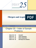 Chapter 25 - Merger & Acquisition