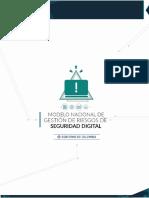 Modelo Nacional de Riesgos de Seguridad Digital