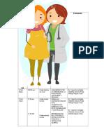 Cronograma de Actividades Maternidad Saludable