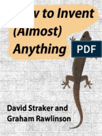 How to Invent (Almost) Anything - David Straker