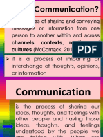 For Students Definition Process of Communication Copy