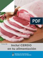 Ficha 26 CarneCerdo