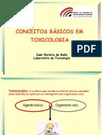 Conceitos basicos em toxocologia