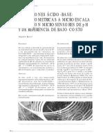 Titulaciones Potenciométrica de Neutralización a Micorescala