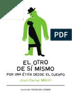 El Otro de Sí Mismo_ Por Una Ética Desde El Cuerpo - Melich, Joan-Carles