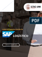 Brochure C.E SAP LogísticoCTICUNI