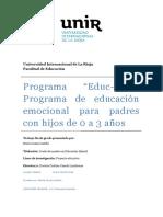 Programa de Educación Emocional