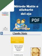 Metodo Matte o Silabario Del Ojo.ppt · Versión 1