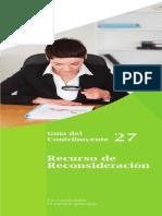5-Guia 27-Recurso de Reconsideración