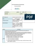 PLAN DE CLASE MATEMATICAS SEGUNDO GRADO  4.1