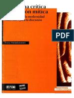 Franz J. Hinkelammert - Hacia una crítica de la razón mítica. El laberinto de la modernidad-El perro y la rana (2008).pdf