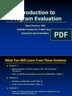 Powers IntroductionToProgramEvaluation