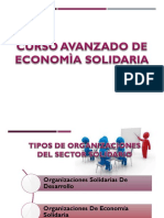 Curso Avanzado de Economia Solidaria Act