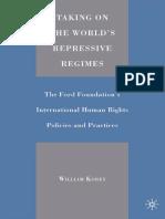 Taking on the World's Repressive Regimes