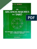 Os Arcanos Maiores Do Tarô - g. o. Mebes
