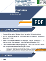 PPT Asfiksia neonatorum
