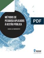 métodos de pesquisa aplicados à gestão pública
