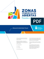 Manual de Identidad Visual Zonas Comerciales Abiertas de Canarias