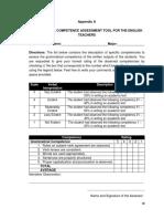 7. Appendix a. Assessment Tool
