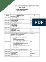 Rundown Pim Perdana Dan Peneguhan Pengurus Pmkk 2017