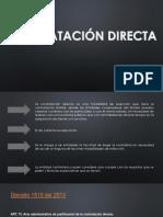 Contratación Directa (2)