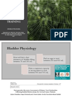 Suprapubic Catheter Bladder Training