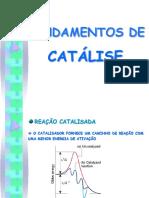 AULA - FUNDAMENTOS DE CATÁLISE