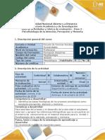 Guía de actividades y rúbrica de evaluación - Paso 2 - Psicofisiología de la Atención, Percepción y Memoria.pdf
