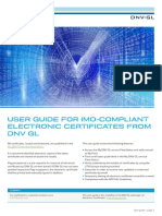 DNV GL ElectronicCertificates Guide 2017-10 L05