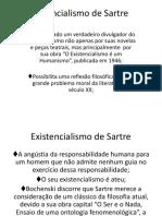 Existencialismo de  Sartre