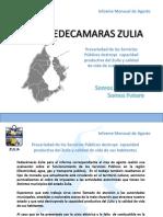 Informe mensual de Agosto Fedecámaras Zulia