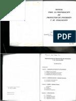 manual para la preparación de proyectos de inversión y su evaluación