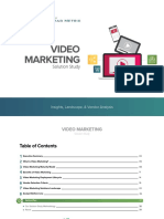ANA Video Marketing Solution Study
