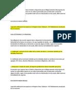 Documentos Renta Vigencia 2018