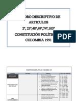 cuadros descriptivos constitución politica