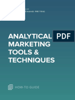 ANA Analytical Marketing Tools & Techniques
