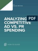 ANA Analyzing Competitive Ad vs. PR Spending