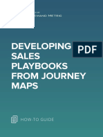 ANA Developing Sales Playbooks From Journey Maps