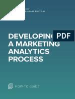 ANA Developing a Marketing Analytics Process