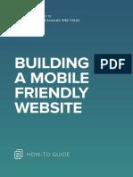 ANA Building a Mobile Friendly Website
