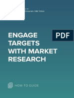 ANA Engage Targets With Market Research