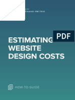 ANA Estimating Website Design Costs