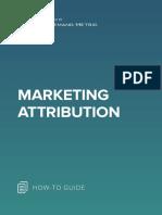 ANA Marketing Attribution